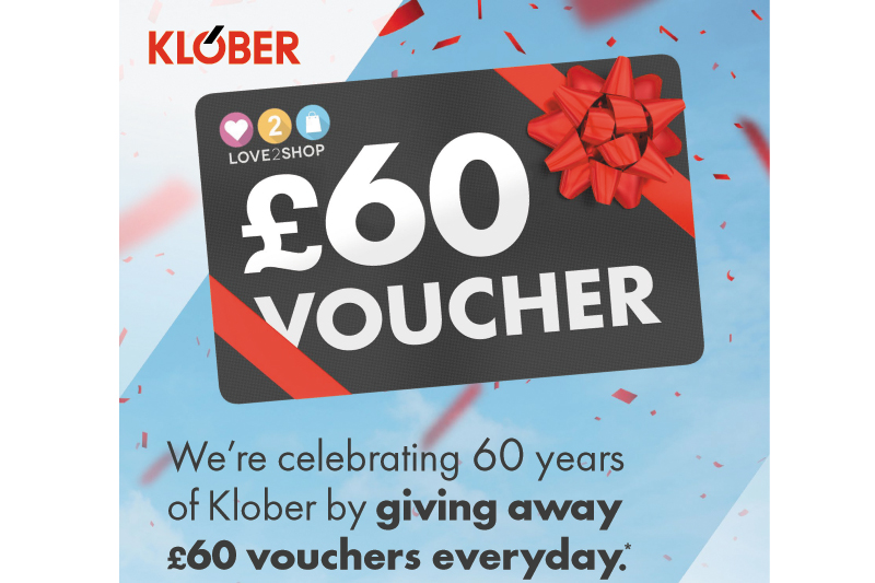 Klober celebrates 60 years with giveaway