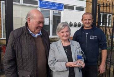 Thompson & Parkes wins prestigious award