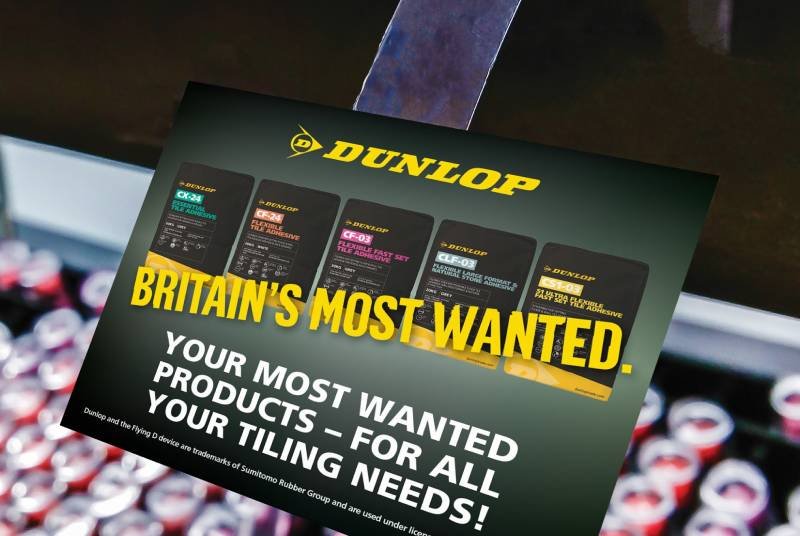 Marketing support from Dunlop
