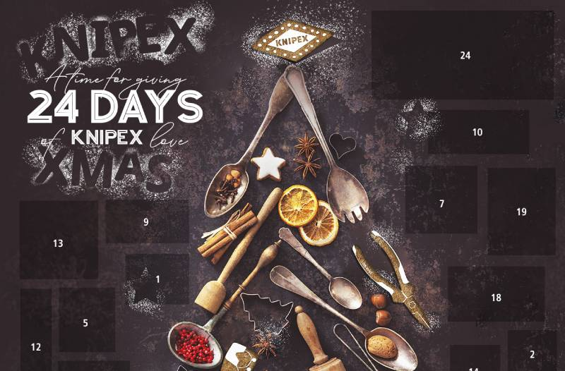 KNIPEX launches advent calendar