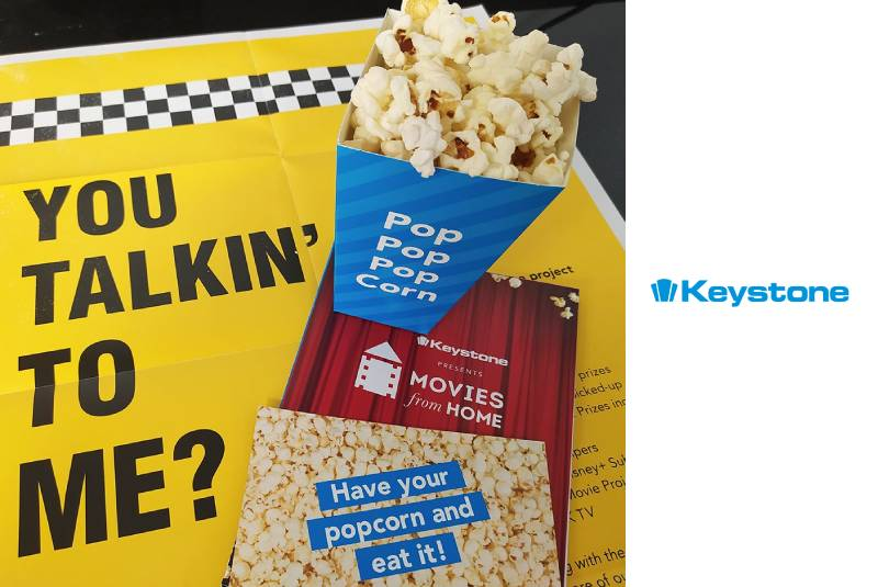 Keystone launches movie-themed sales campaign