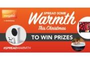 Megaflo launches #SpreadWarmth Christmas campaign
