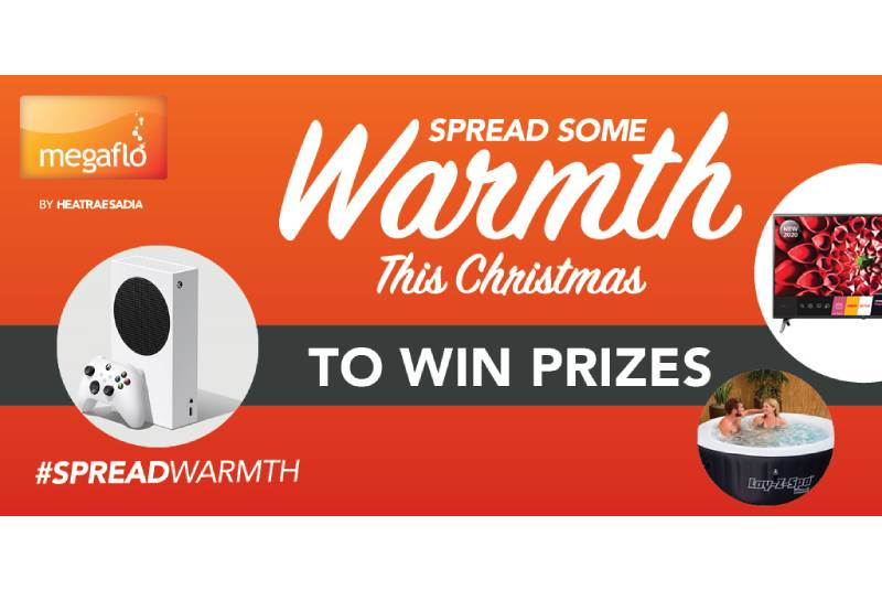 Megaflo launches #SpreadWarmth Christmas campaign