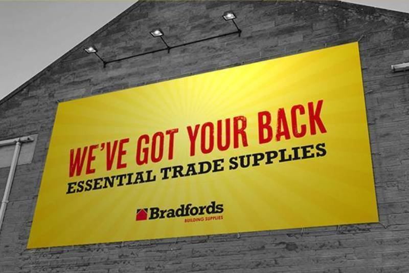 Bradfords Building Supplies' wins at Construction Marketing Awards 2020