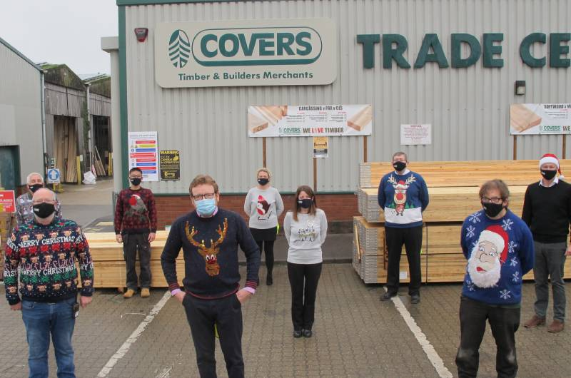 Covers supports local this festive season