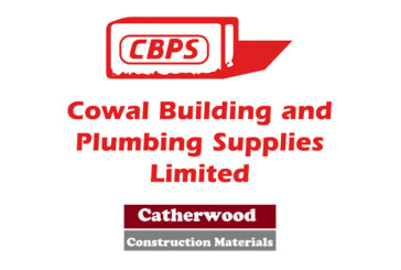 Cowal Building and Plumbing Supplies acquires Catherwood Construction Materials