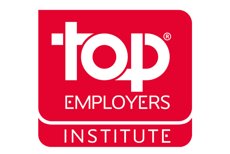 Leading businesses in the sector awarded Top Employer accolade