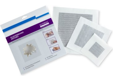 Artex outlines the benefits of Gyproc Plasterboard Patches