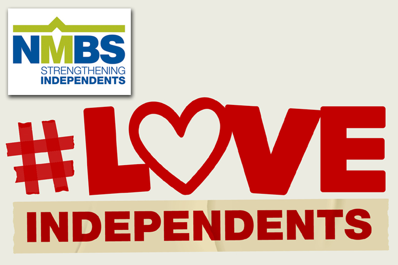 NMBS launches #LoveIndependents campaign