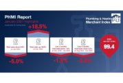 Plumbing & Heating Merchant Index shows slower sales in January