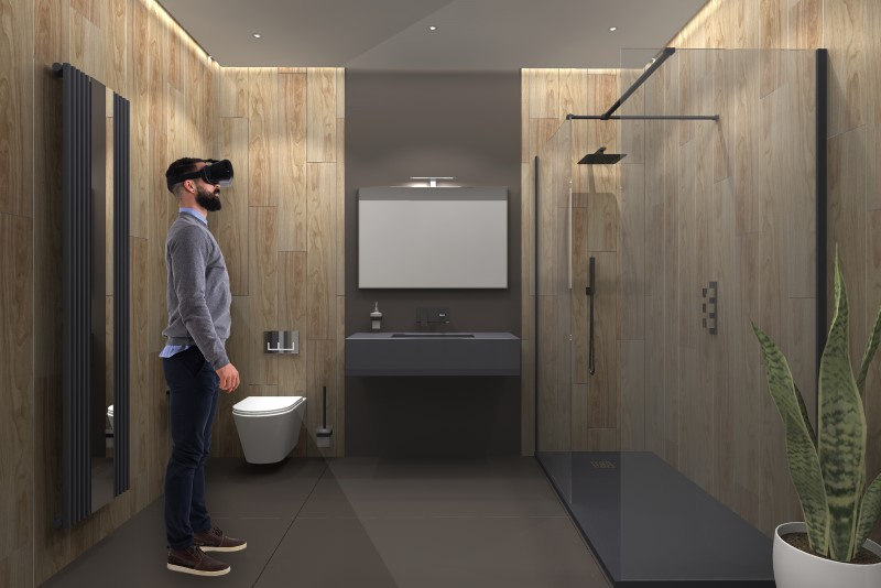 Ideal Bathrooms partners with Virtual Worlds