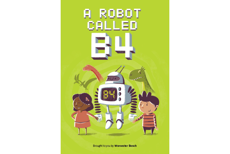 Worcester Bosch launches children's book called 'A Robot Called B4'