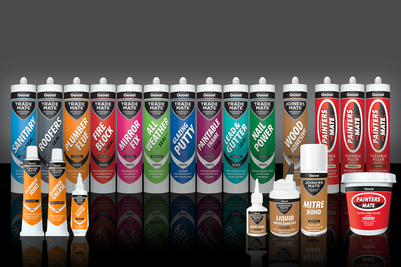 Geocel unveils premium packaging revamp for Mate ranges