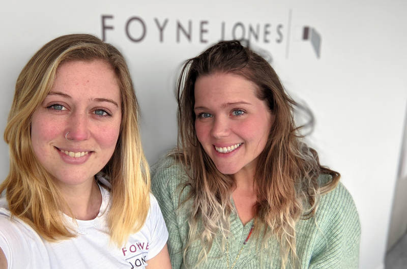 Foyne Jones is supporting flexible working hours