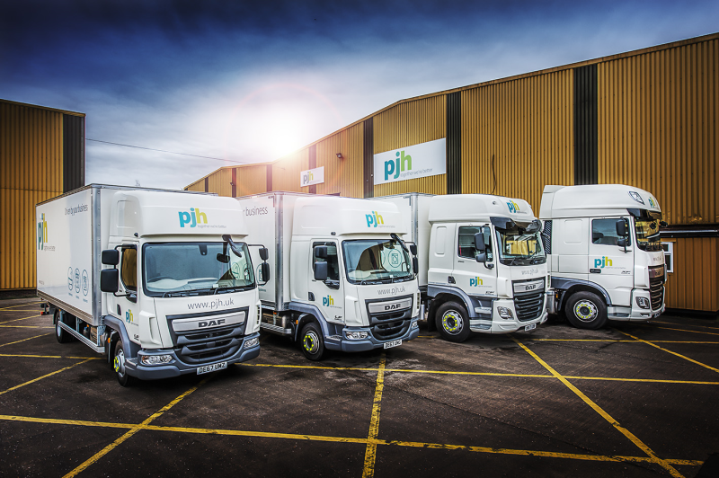 PJH expands Next Day Delivery with investment in three new sites