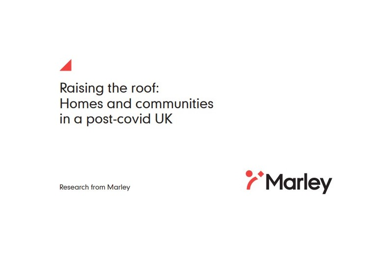 Marley whitepaper shows homeowner and tenant attitudes in Post-Covid UK