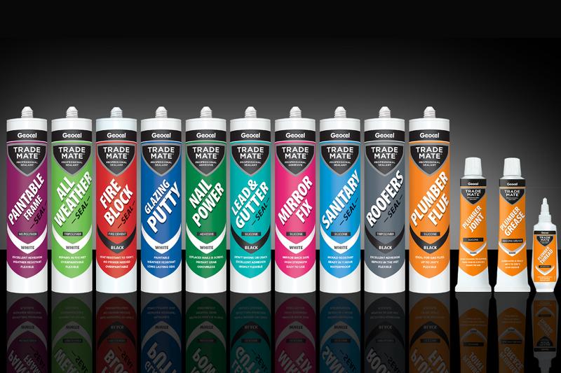 Premium packaging for Geocel's Mate range