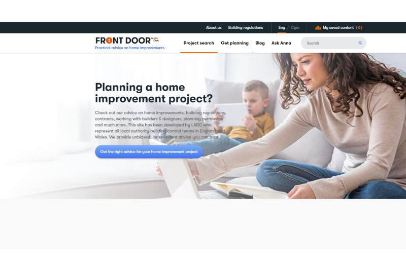 BMF endorses new LABC 'Front Door' website
