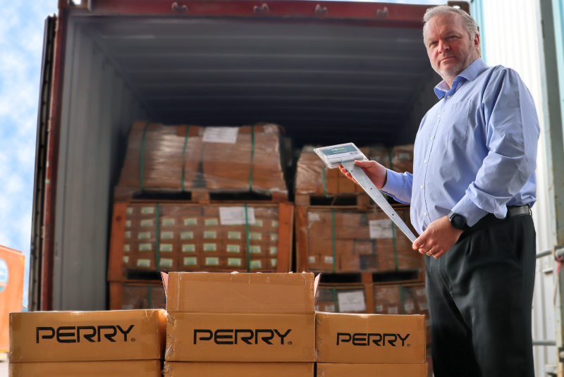 A. Perry manufacturing investment shores up supply chain