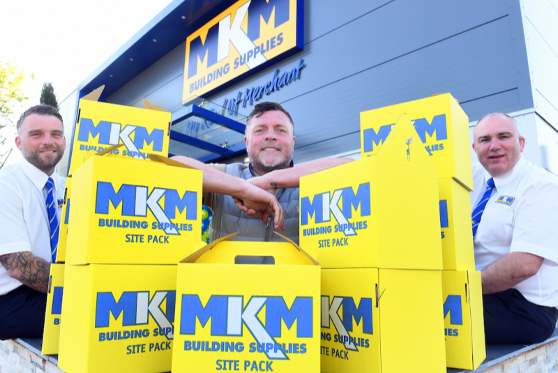 MKM Building Supplies pledges support to The Geoff Horsfield Foundation