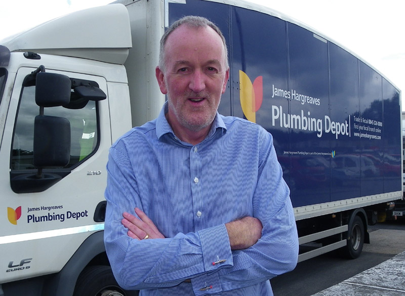 Bill Davies, Sales Director at James Hargreaves Plumbing Depot