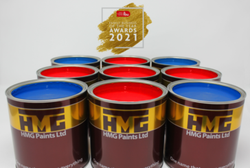 HMG Paints wins at Family Business of the Year Awards