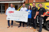 IBC Charity Championship donates £2,000 to local children's hospice
