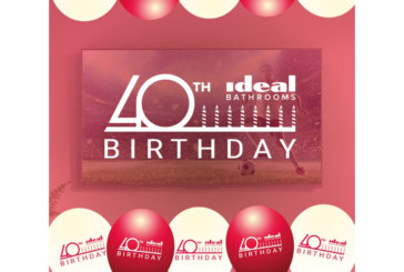 Ideal Bathrooms ramps up 40th birthday celebrations