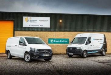 Travis Perkins acquires 'green' Mercedes-Benz vans from Intercounty T&V