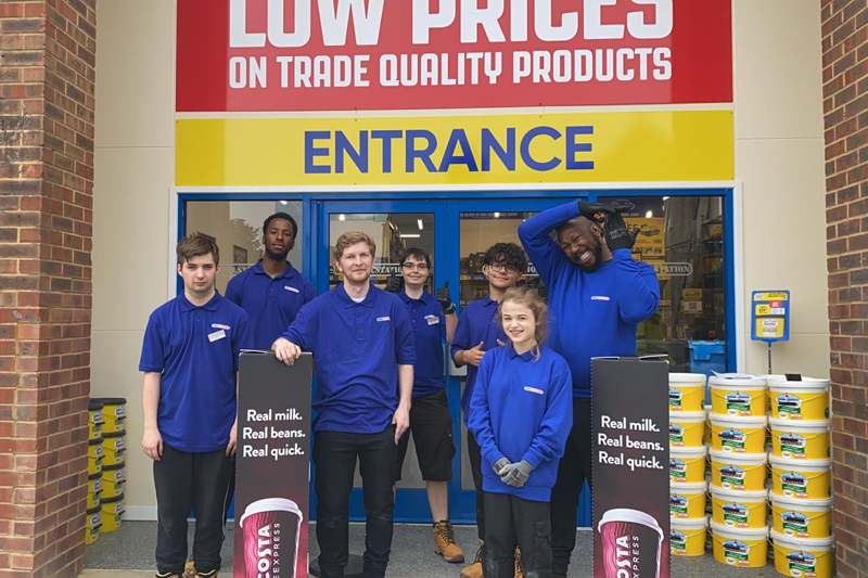 'Traditional merchants' may be interested to know that Toolstation has recently opened the doors of its 500th store, in New Malden, creating seven new roles in the area.