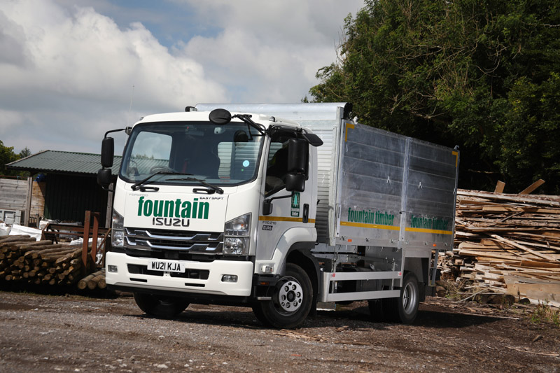 Bristol-based timber merchant Fountain Timber has recently ordered a further two new Isuzu rigids to add to its growing fleet.