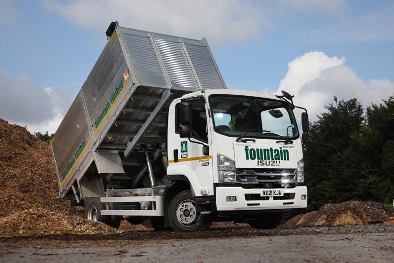 Fountain Timber adds more Isuzu trucks