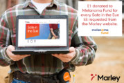 Marley's 'Safe in the Sun' campaign supports the Melanoma Fund