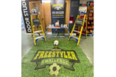 Football fever hits with the Youngman Freestyler challenge