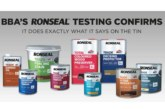 BBA approval proves Ronseal Trade range 'does exactly what it says on the tin'
